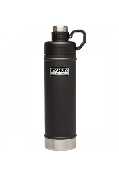Stanley Classic Vacuüm Waterfles Matte Black 0,75L