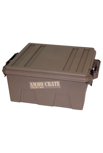 MTM Case-Gard Ammo Crate Utility Box Dark Earth