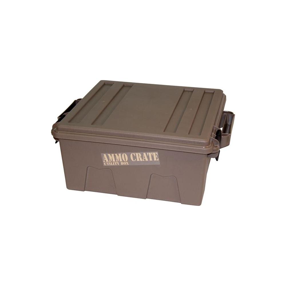MTM Case-Gard Ammo Crate Utility Box Dark Earth-1