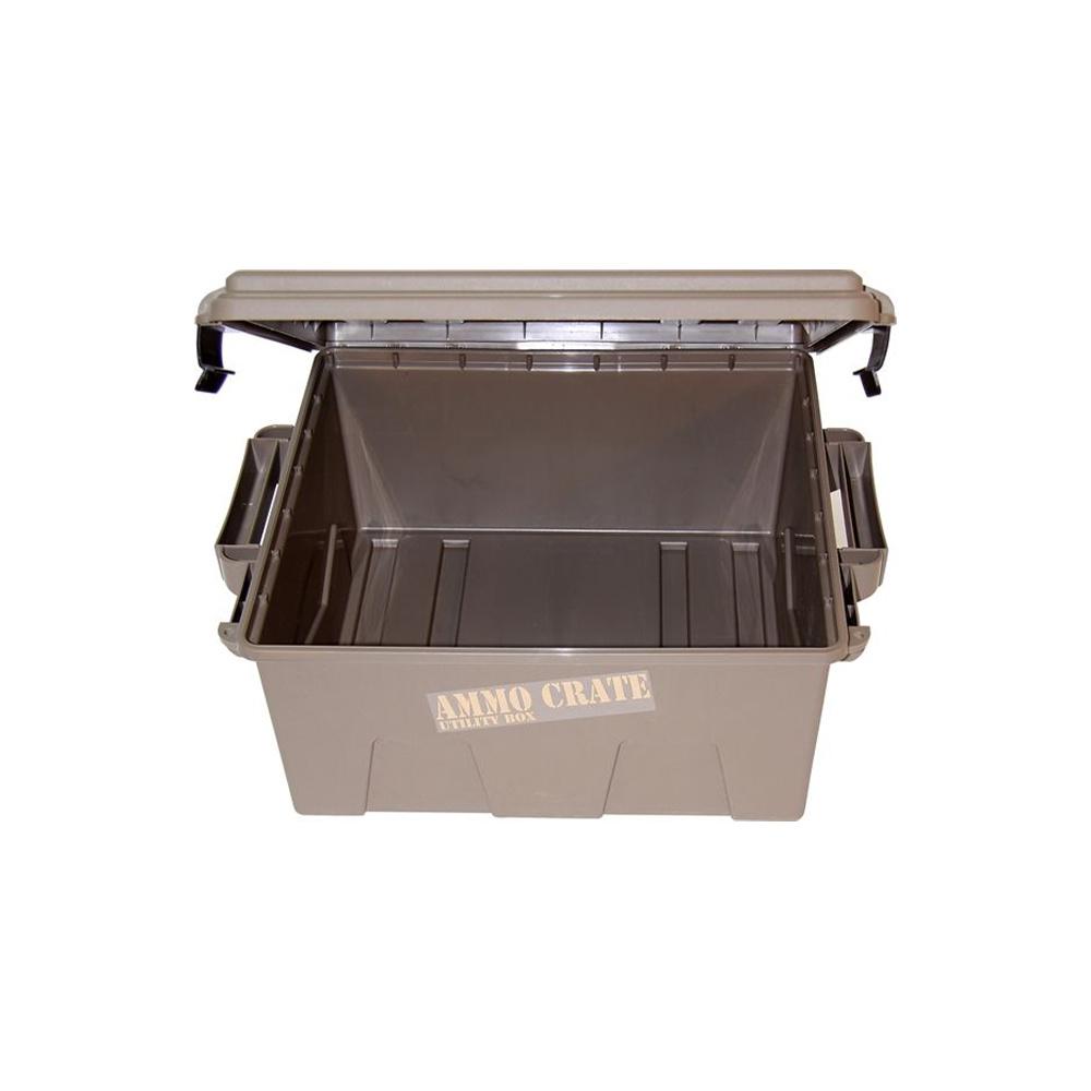 MTM Case-Gard Ammo Crate Utility Box Dark Earth-3