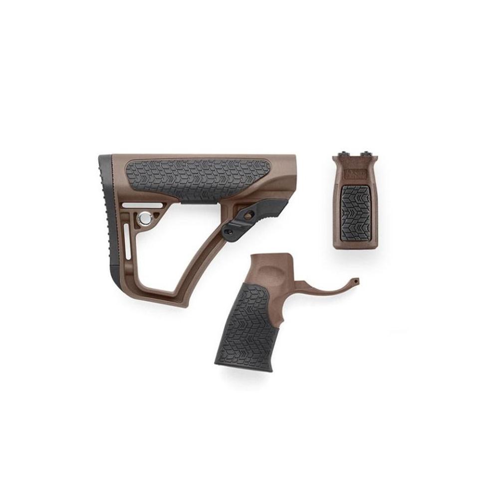 Daniel Defense Buttstock Pistol Grip & M-Lok Vertical Foregrip Combo Mil Spec+-1