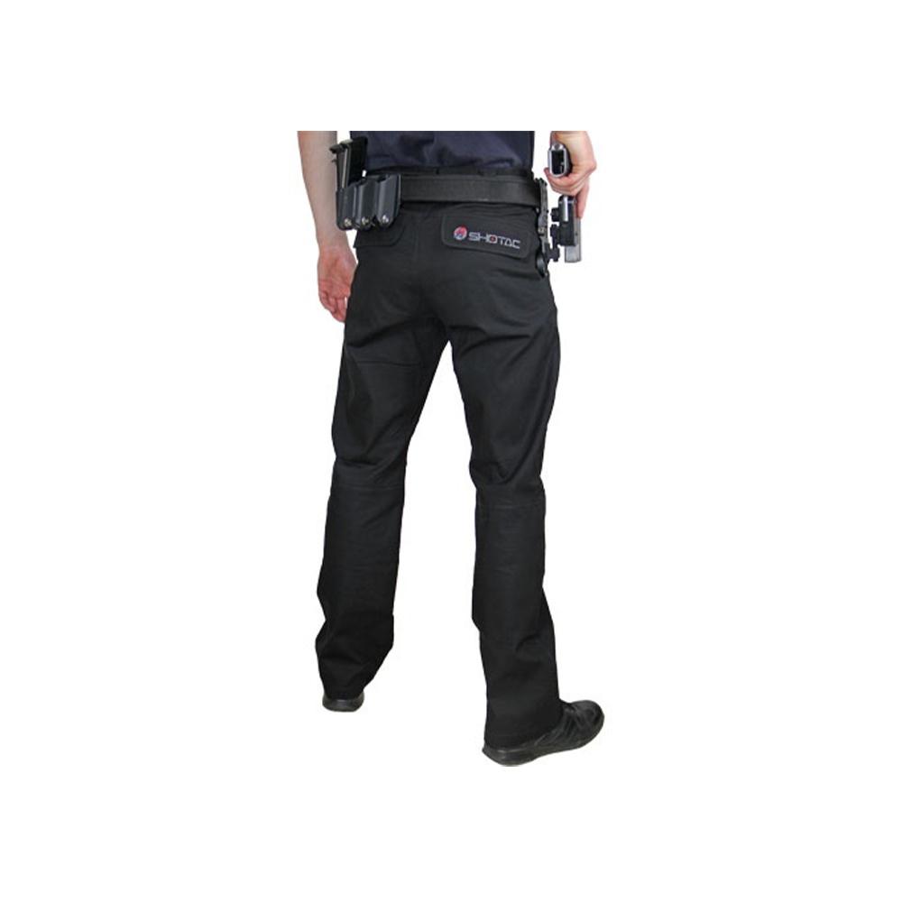 Double Alpha Academy Shotac Shooting Pants Black-2