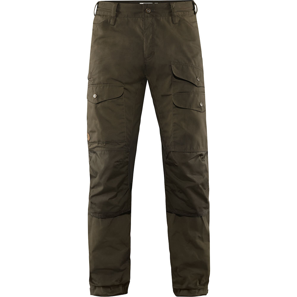 Fjällräven Vidda Pro Ventilated Broek M Long - Dark Olive-1