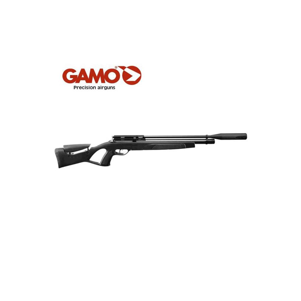Gamo Coyote Black Whisper HP Black Tactical 5.5 + Pomp en Kijker-1