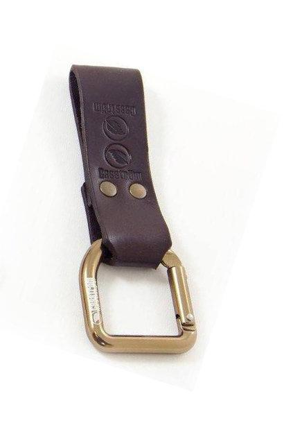 Casström No.3 Dangler & Belt Loop - Dark Brown