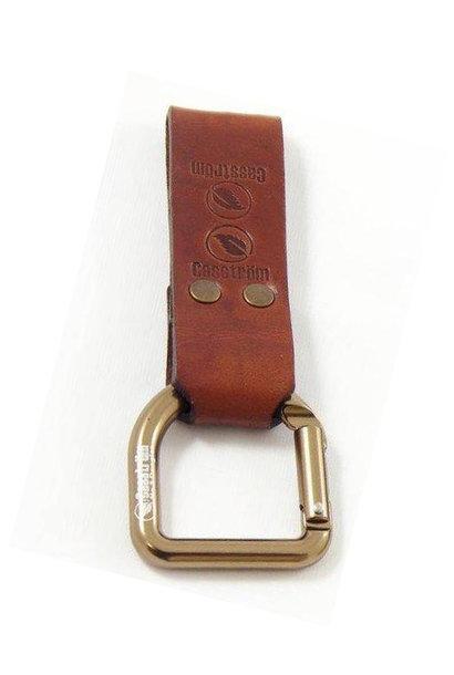 Casström No.3 Dangler & Belt Loop - Cognac Brown