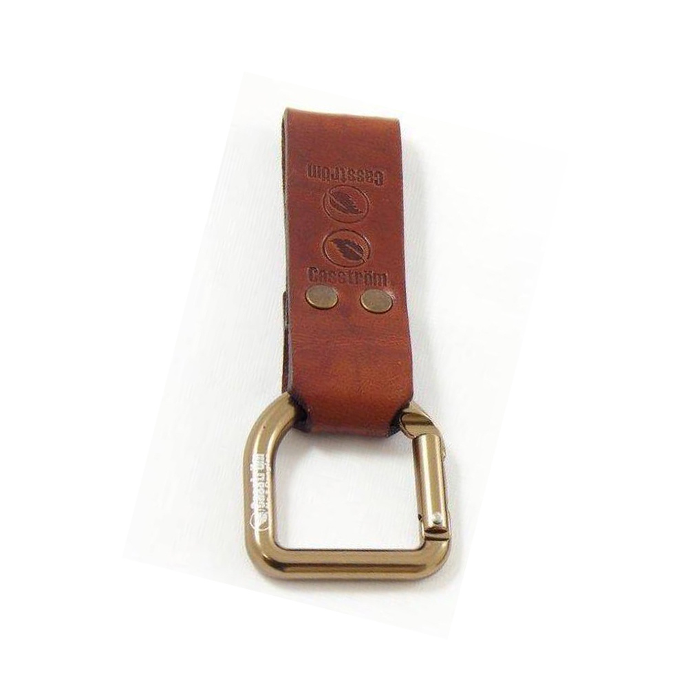Casström No.3 Dangler & Belt Loop - Cognac Brown-1