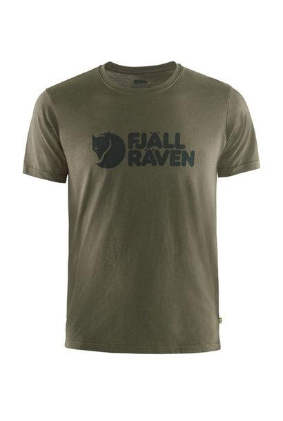 Fjällräven Logo T-Shirt - Dark Olive