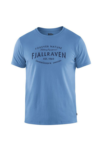 Fjällräven Est. 1960 T-Shirt River Blue XL