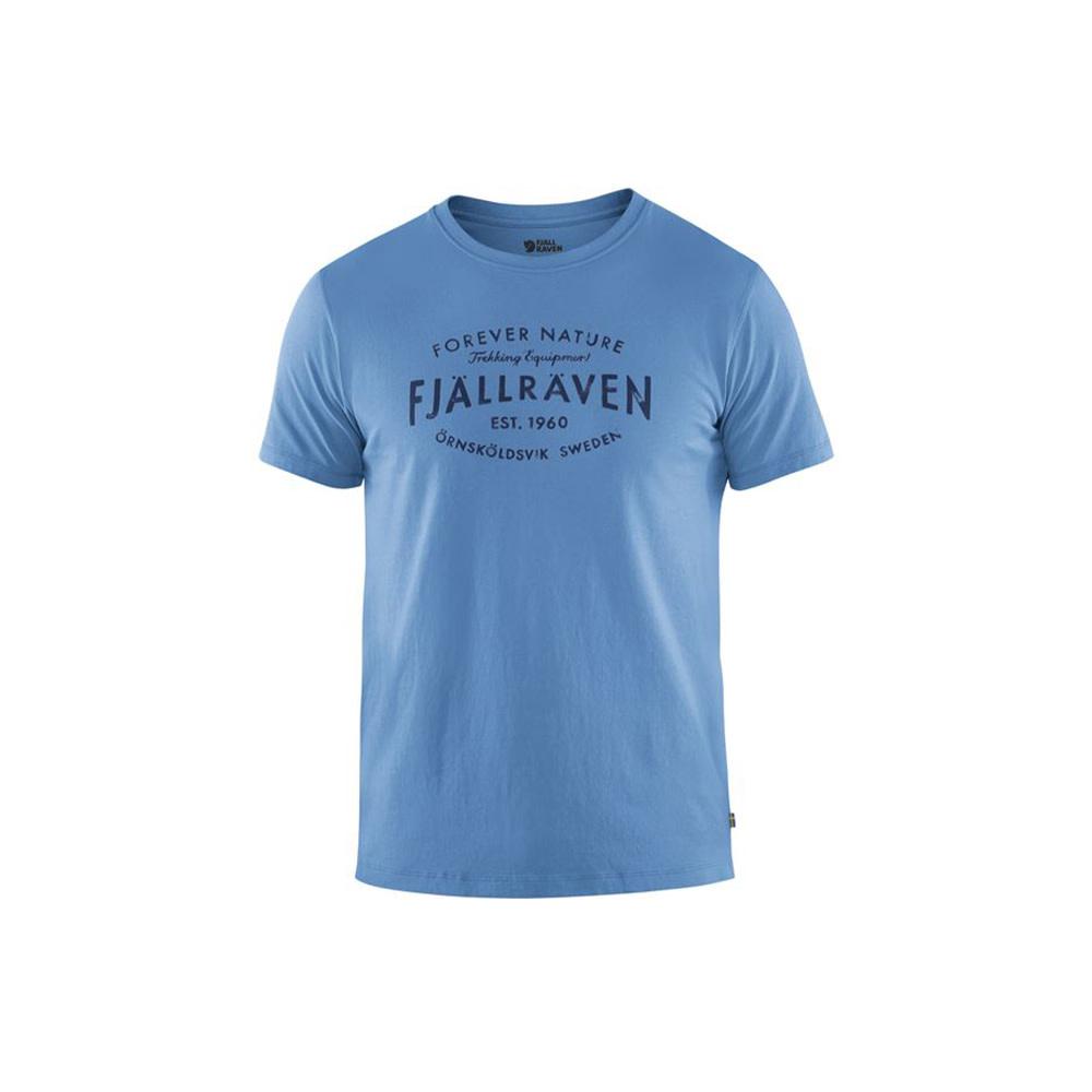 Fjällräven Est. 1960 T-Shirt River Blue XL-1