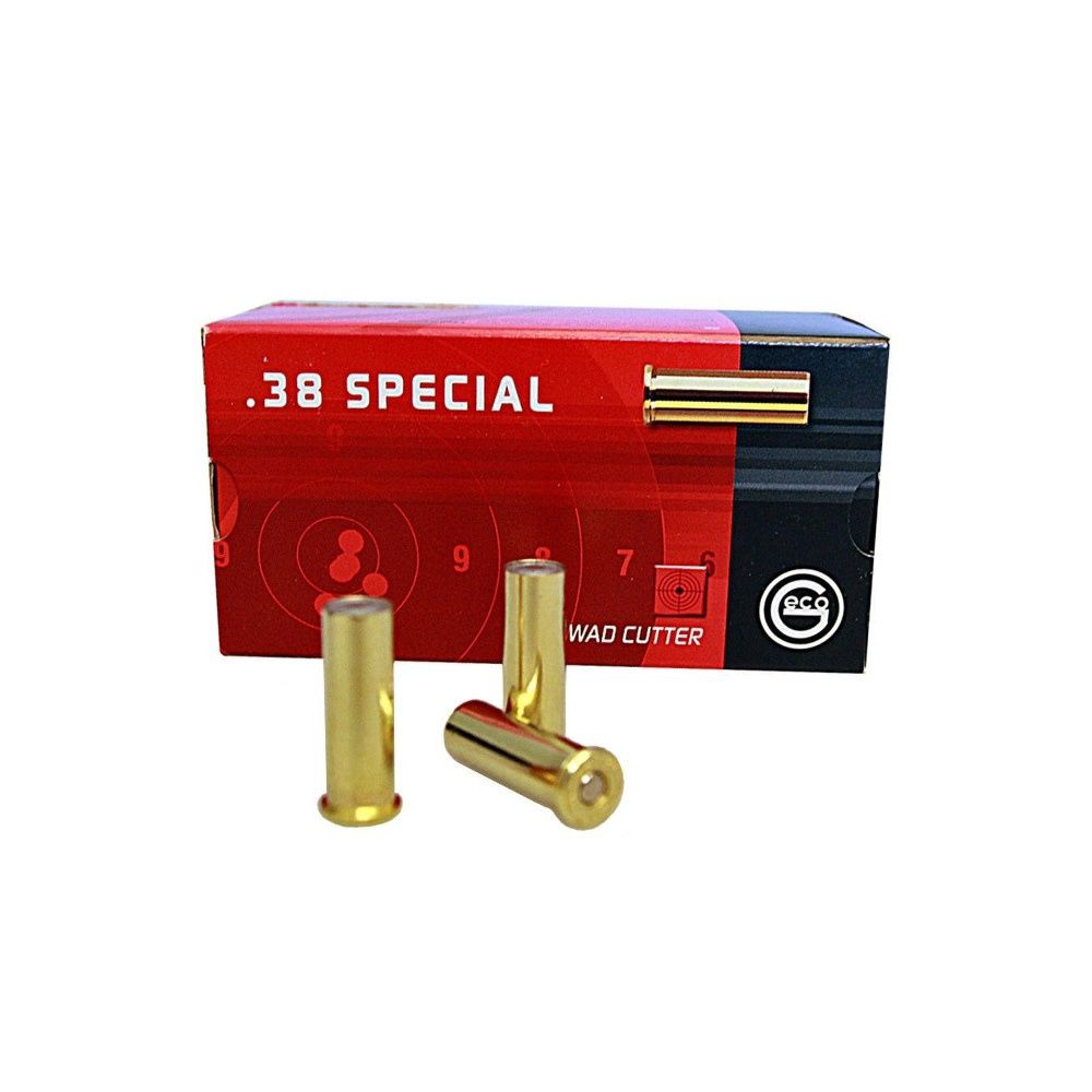 Geco Wad Cutter 148gr. .38 Special-1