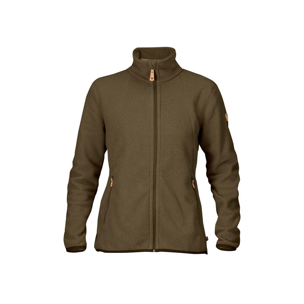 Fjällräven Stina Fleece Vest W  Dark Olive-1