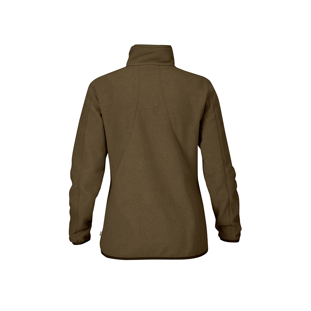 Fjällräven Stina Fleece Vest W  Dark Olive-2