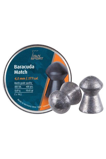 H&N Baracuda Match 4,51mm/.177 Kal 0,69g