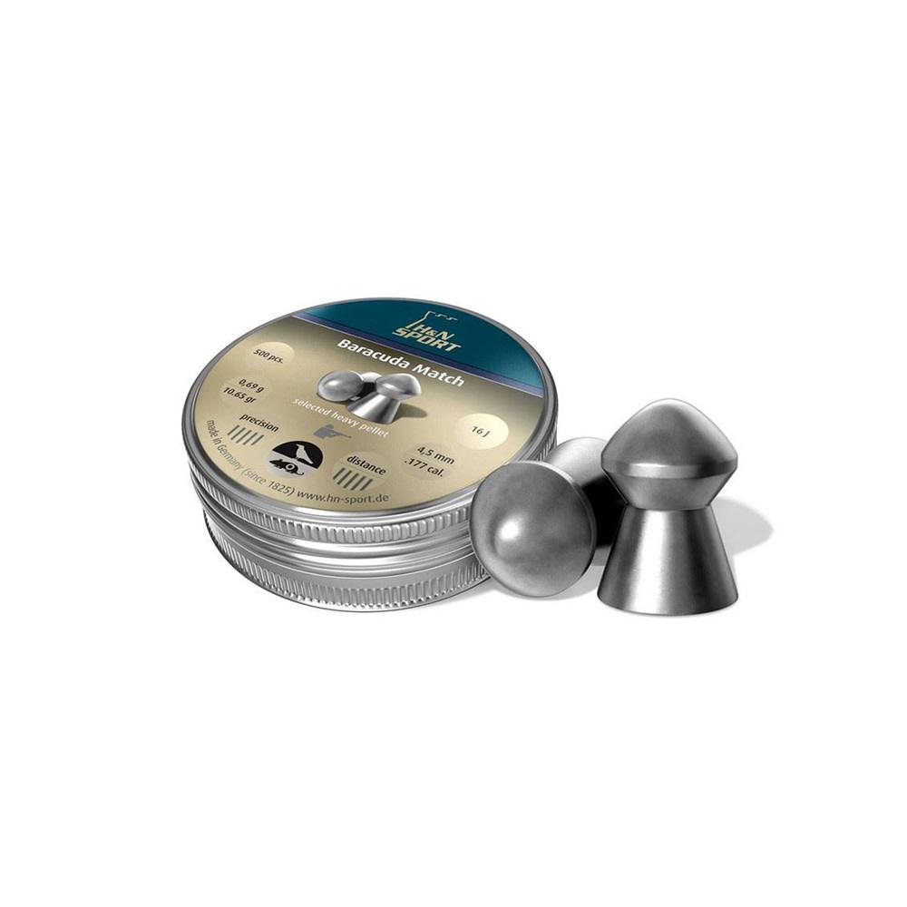 H&N Baracuda Match 5,52mm/.22 Kal 1,37g 200 stuks-1