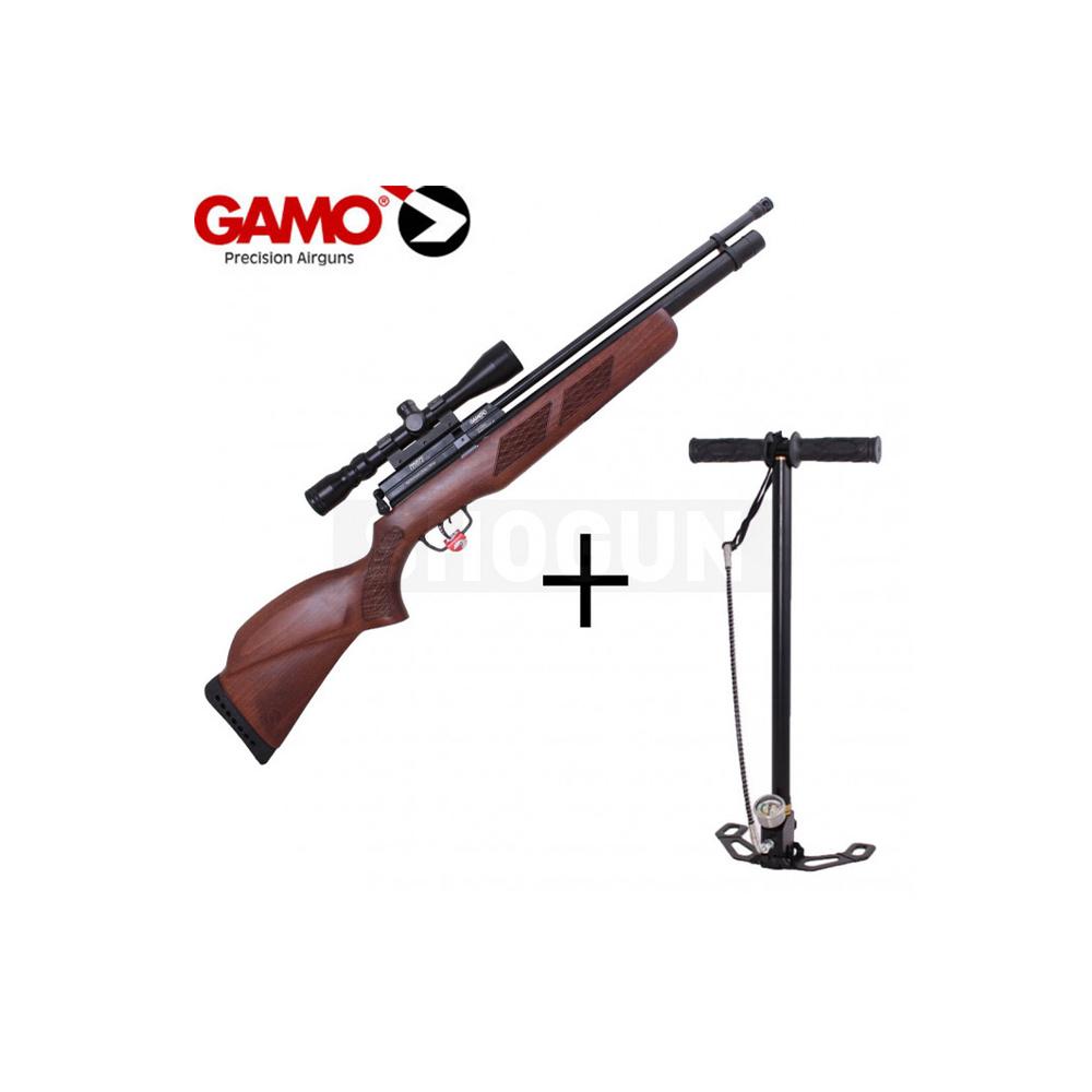 Gamo Coyote Hout 6.35 Incl. 3-9x40WR Kijker + Pomp-2