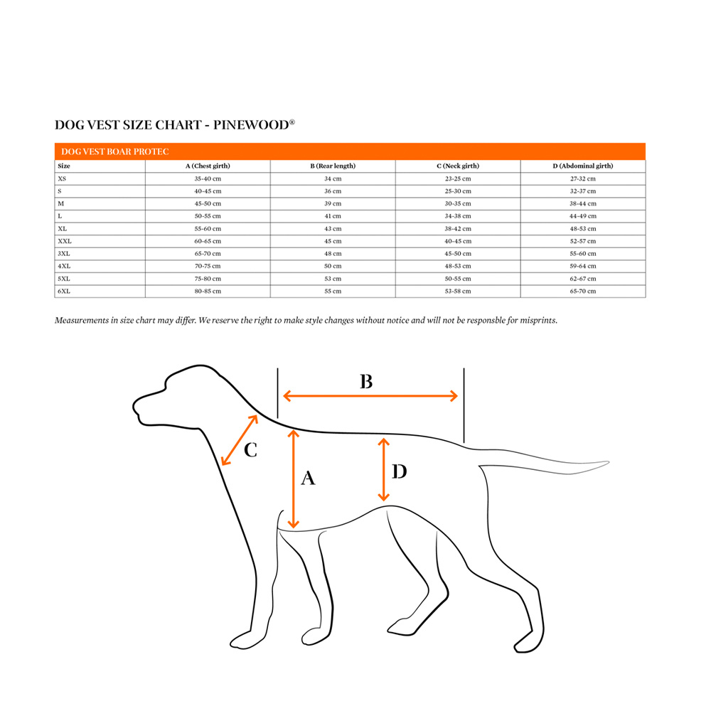 Boar Protec Hondenvest 5XL-4