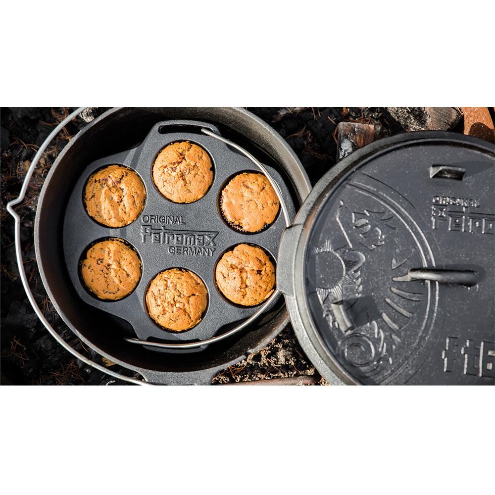 Petromax Gietijzeren Muffin Blik-3