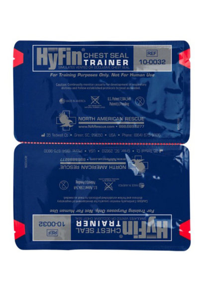 NAR Hyfin Chest Seal Twin Pack Trainer