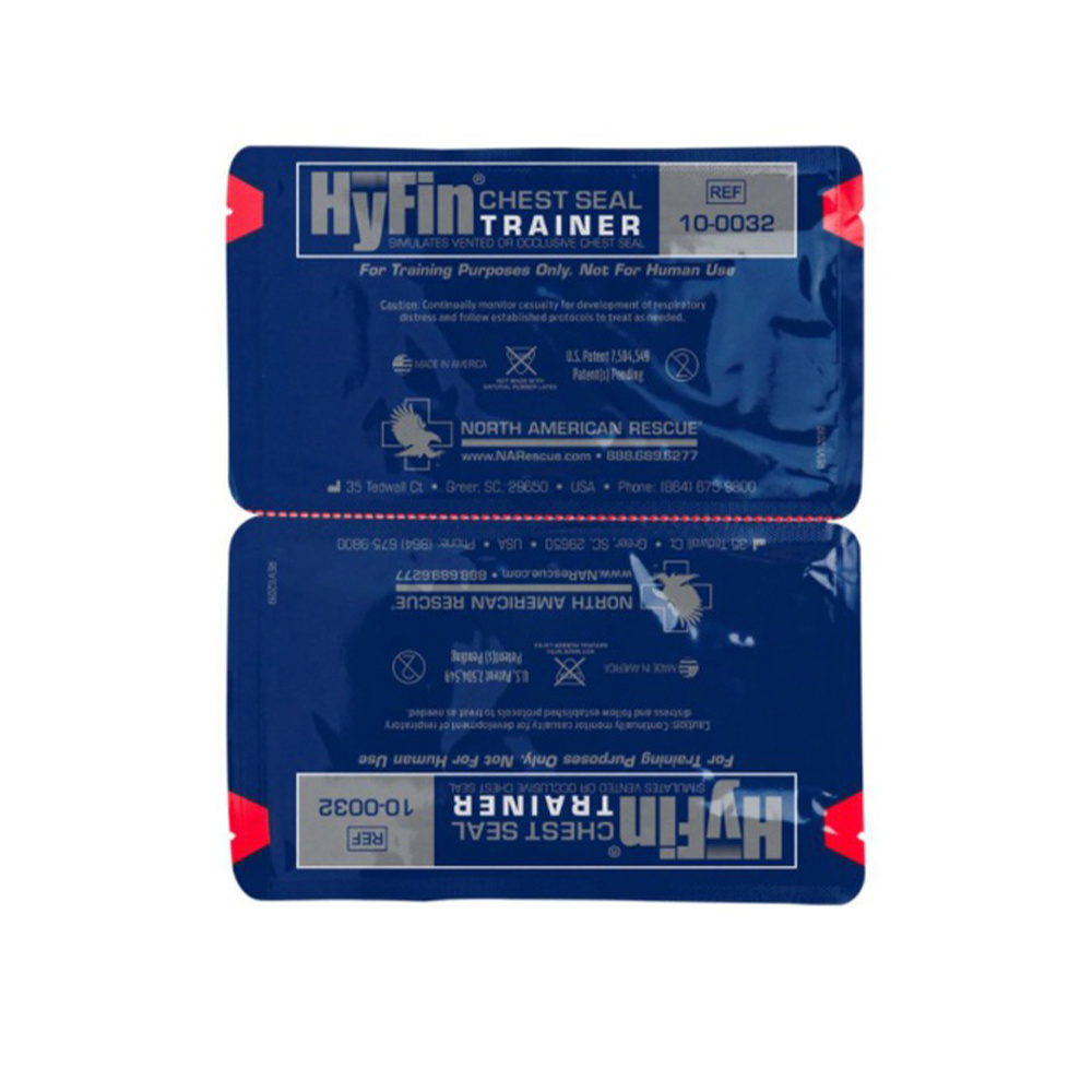 NAR Hyfin Chest Seal Twin Pack Trainer-1