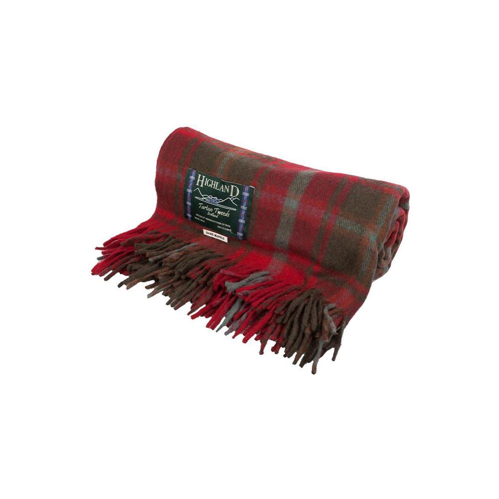Highland Tartan Tweeds Wollen Deken-8