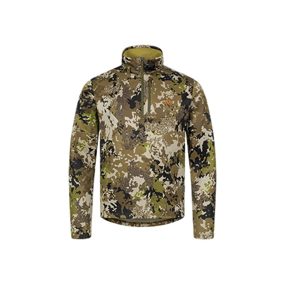 Blaser Drain Halfzip LS Shirt HunTec Camo-1