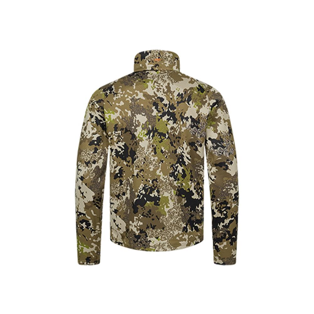 Blaser Drain Halfzip LS Shirt HunTec Camo-2