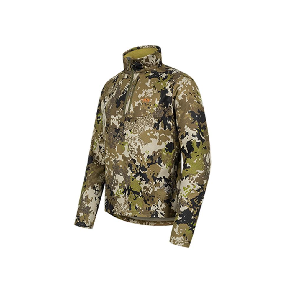 Blaser Drain Halfzip LS Shirt HunTec Camo-4