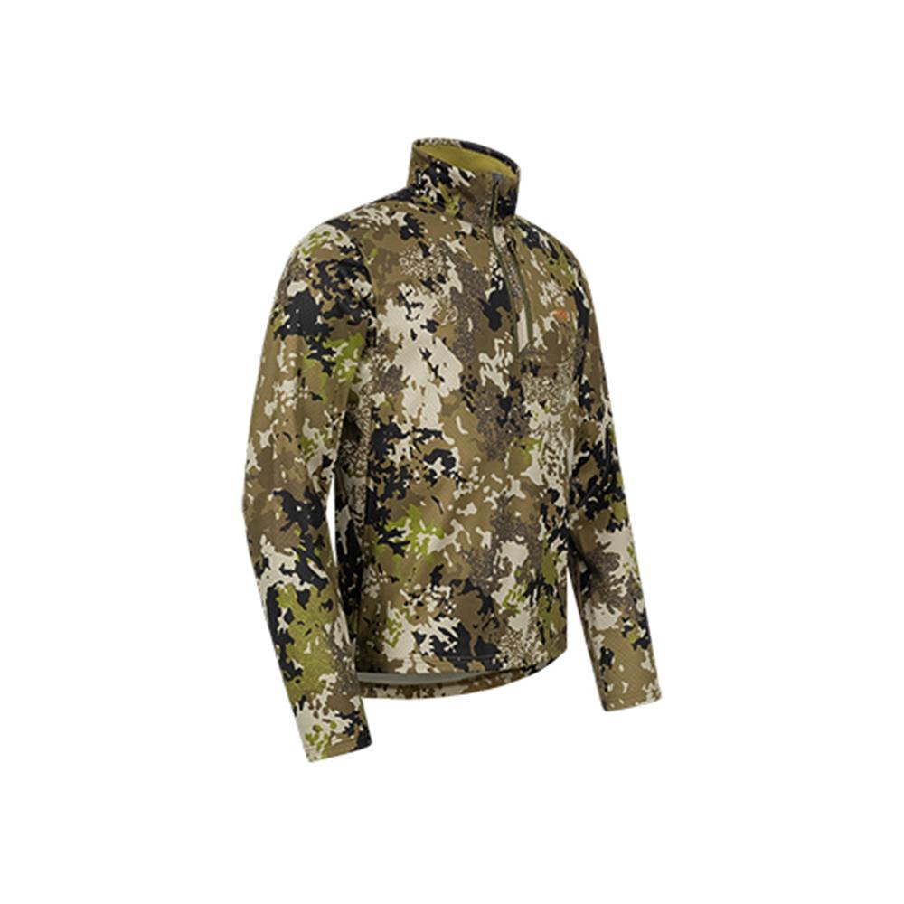 Blaser Drain Halfzip LS Shirt HunTec Camo-3
