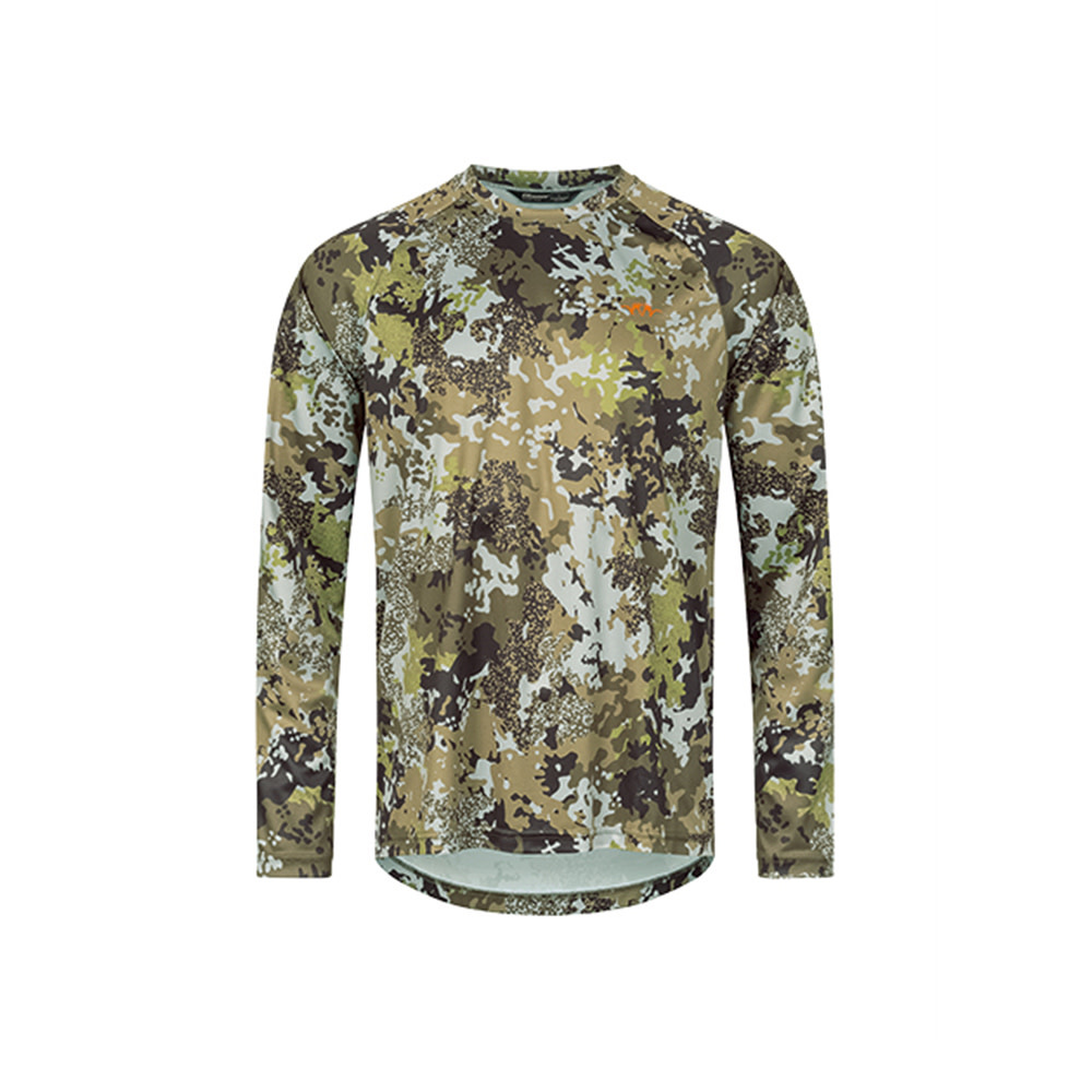 Blaser Function LS Shirt 21 HunTec Camo-1