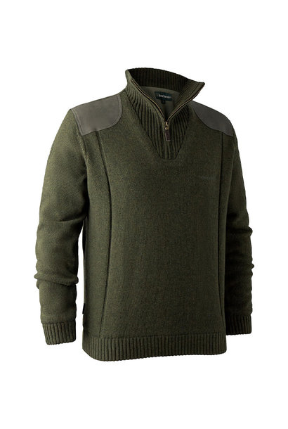 Deerhunter Carlisle Knit  Stormliner Green Melange