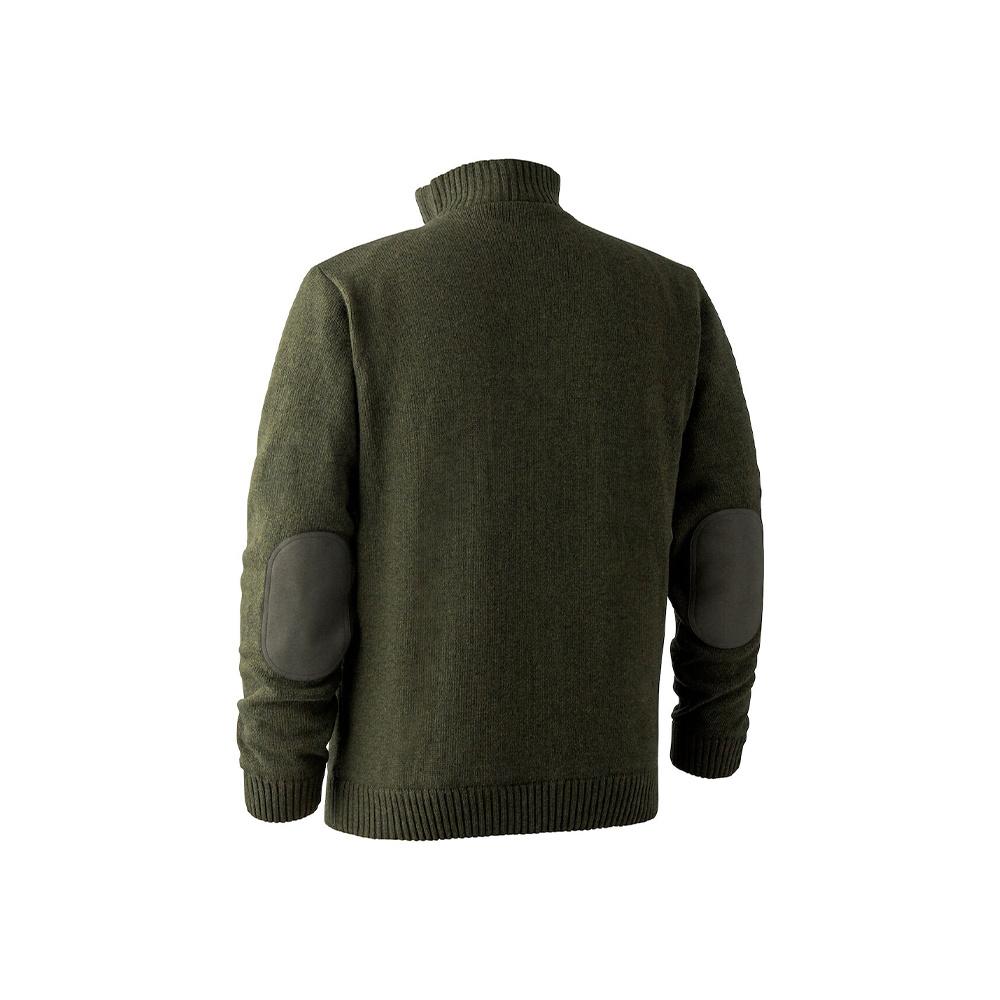 Deerhunter Carlisle Knit  Stormliner Green Melange-2