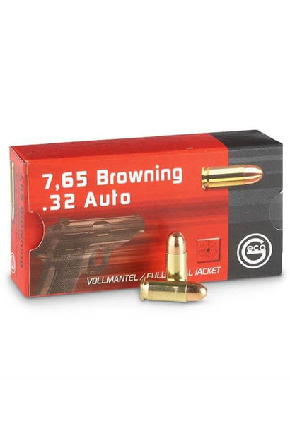 Geco  FMJ 73gr. 7,65 mm Browning / .32 AUTO (50st/box)
