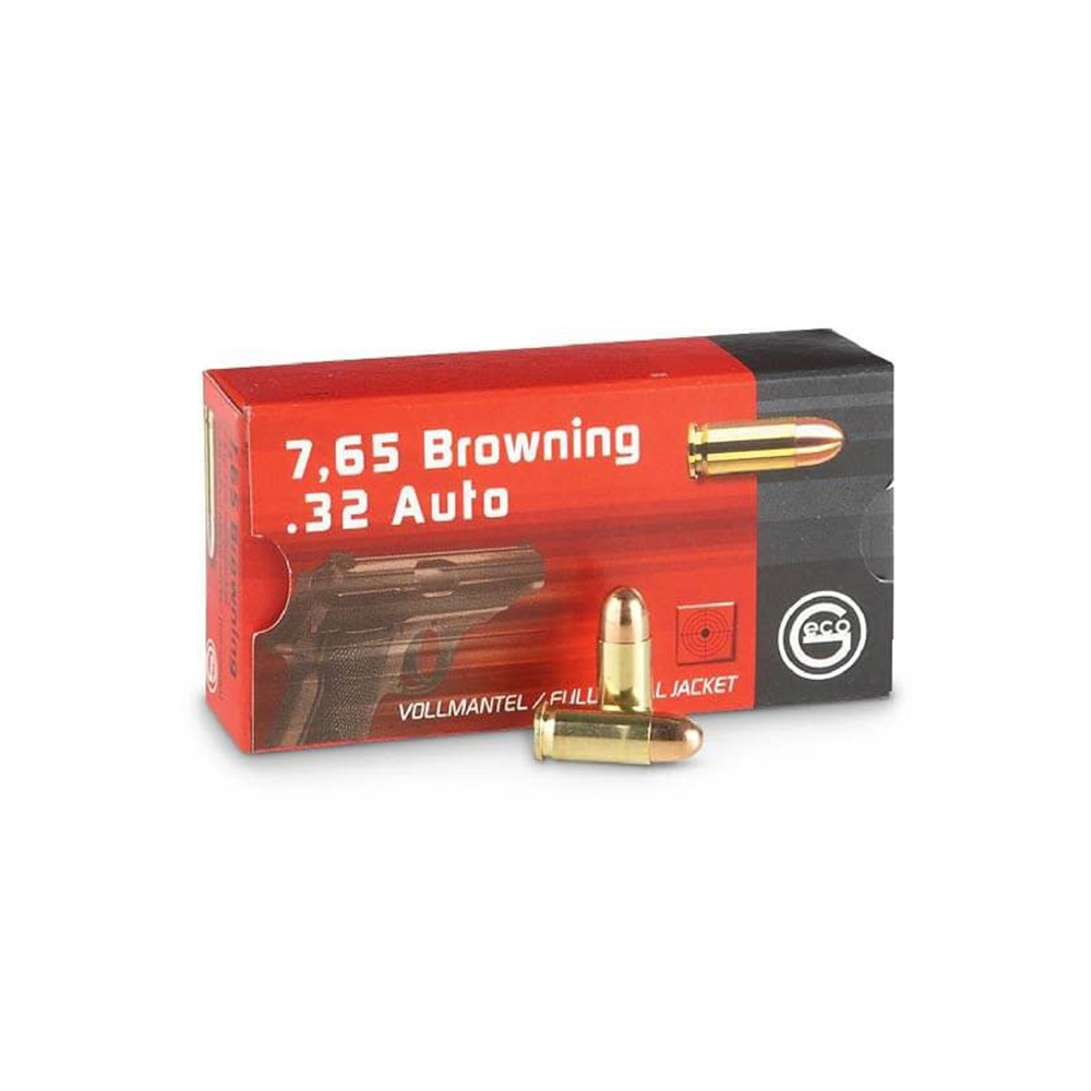 Geco  FMJ 73gr. 7,65 mm Browning / .32 AUTO (50st/box)-1