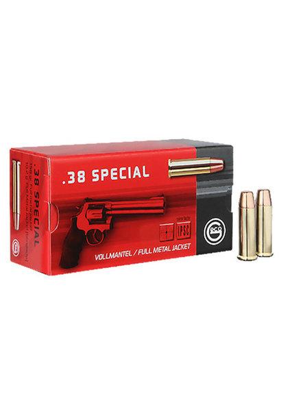 Geco FMJ 158gr. .38 Special (50st/box)