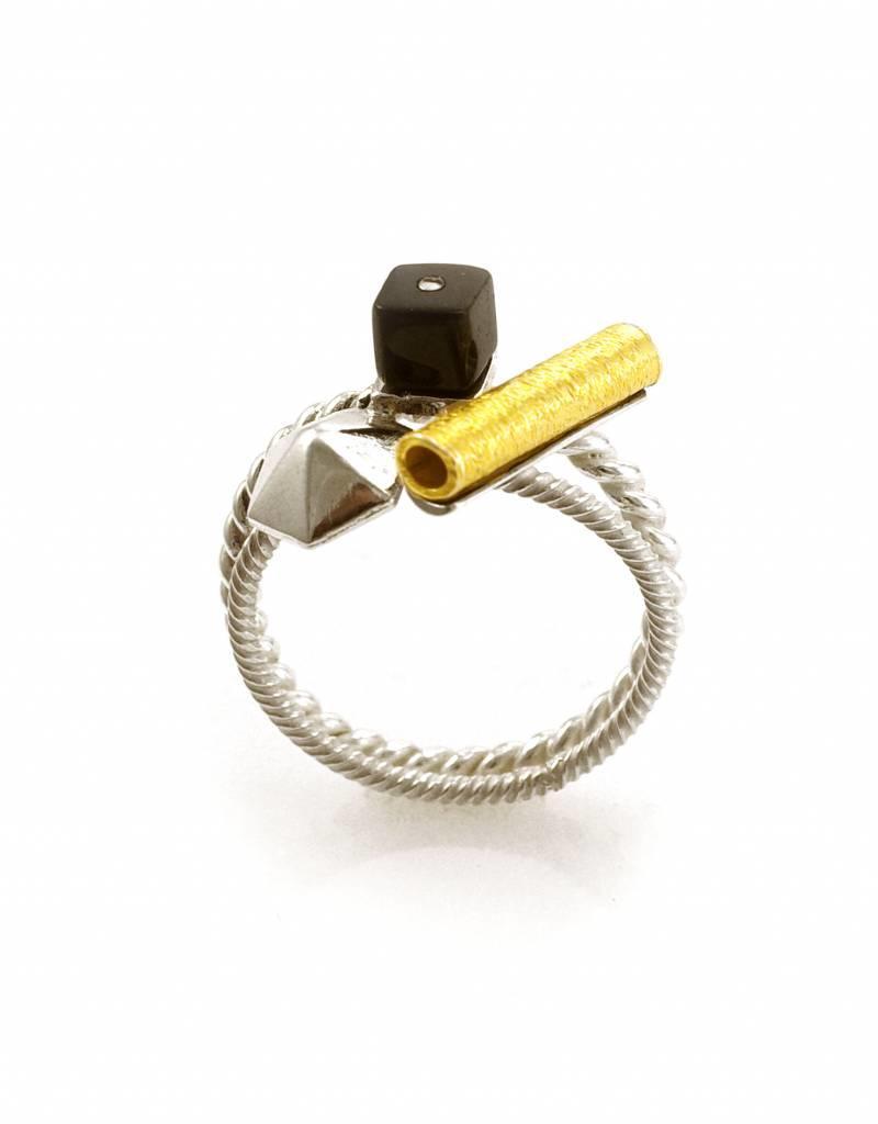 Ring zeshoek - mixed