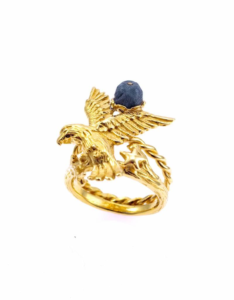 Rebels & Icons Ring arend - goud