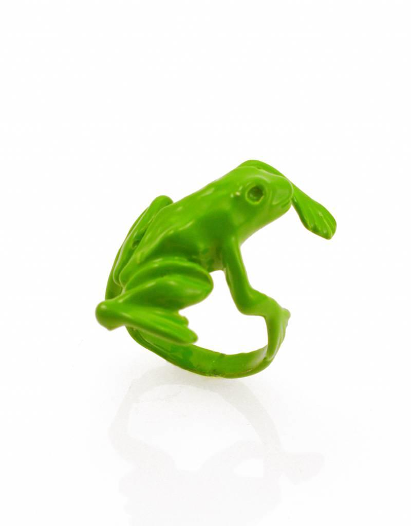 Rebels & Icons Ring frog - green