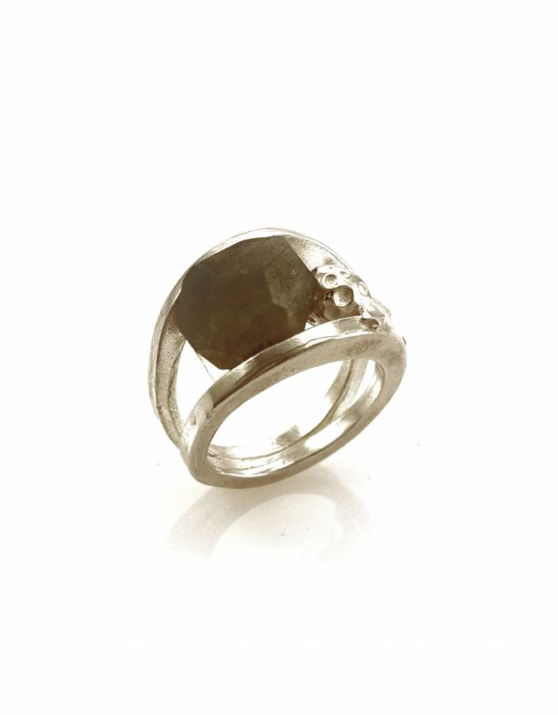 Rebels & Icons Ring comet - silver