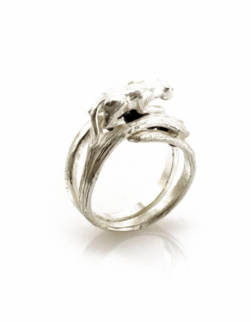 Rebels & Icons Ring tiger - silver