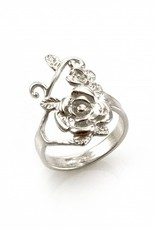 Rebels & Icons Ring rose - silver