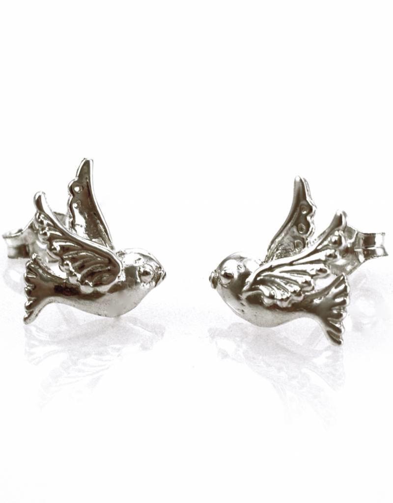 Rebels & Icons Post earrings bird