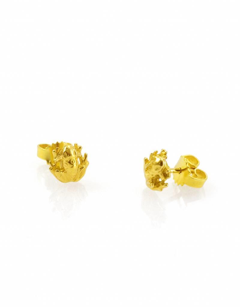 Rebels & Icons Post earrings frog