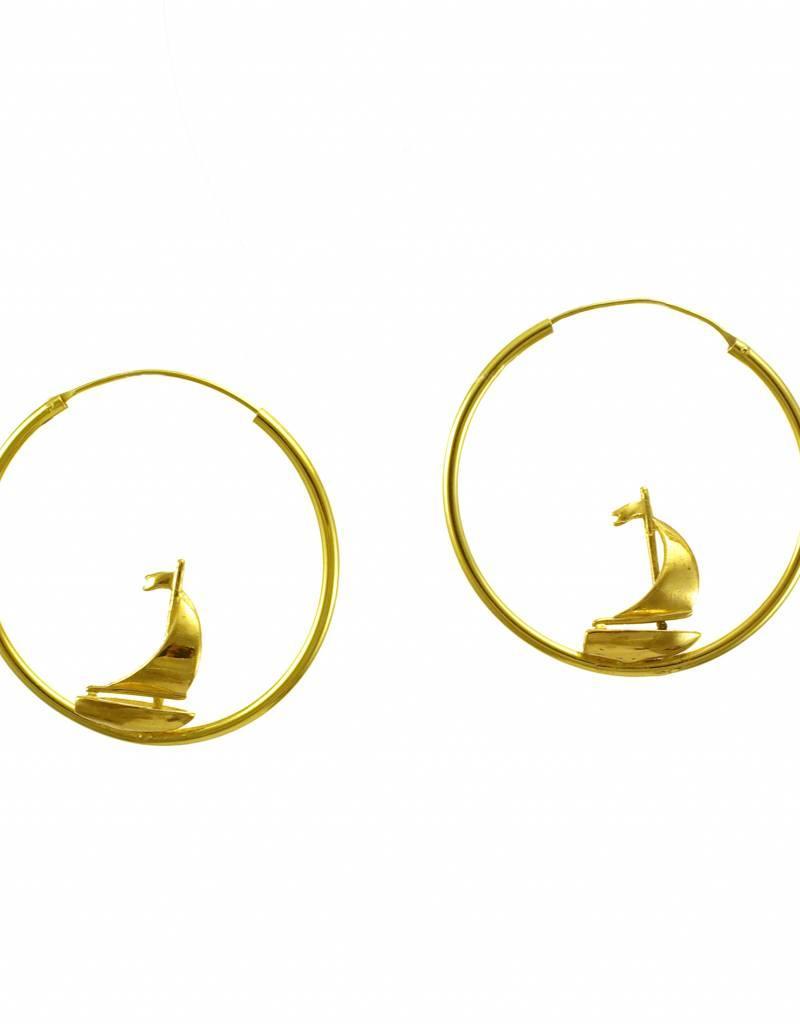 Rebels & Icons Hoop earrings yacht