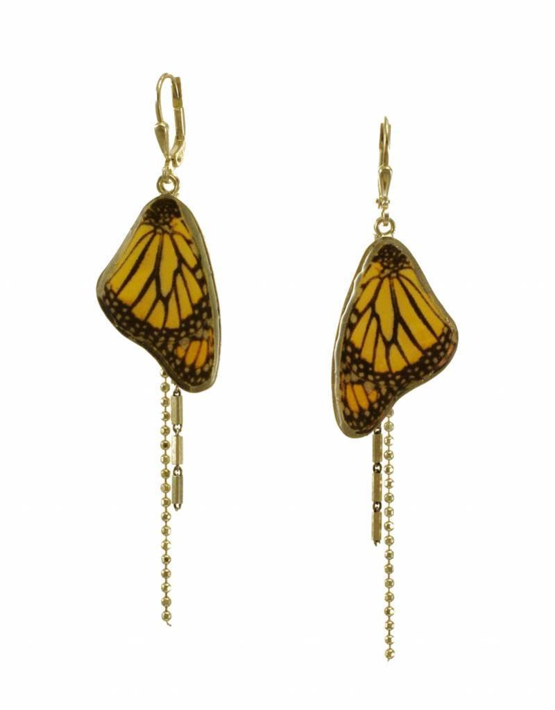 Oorbellen monarchvlinder