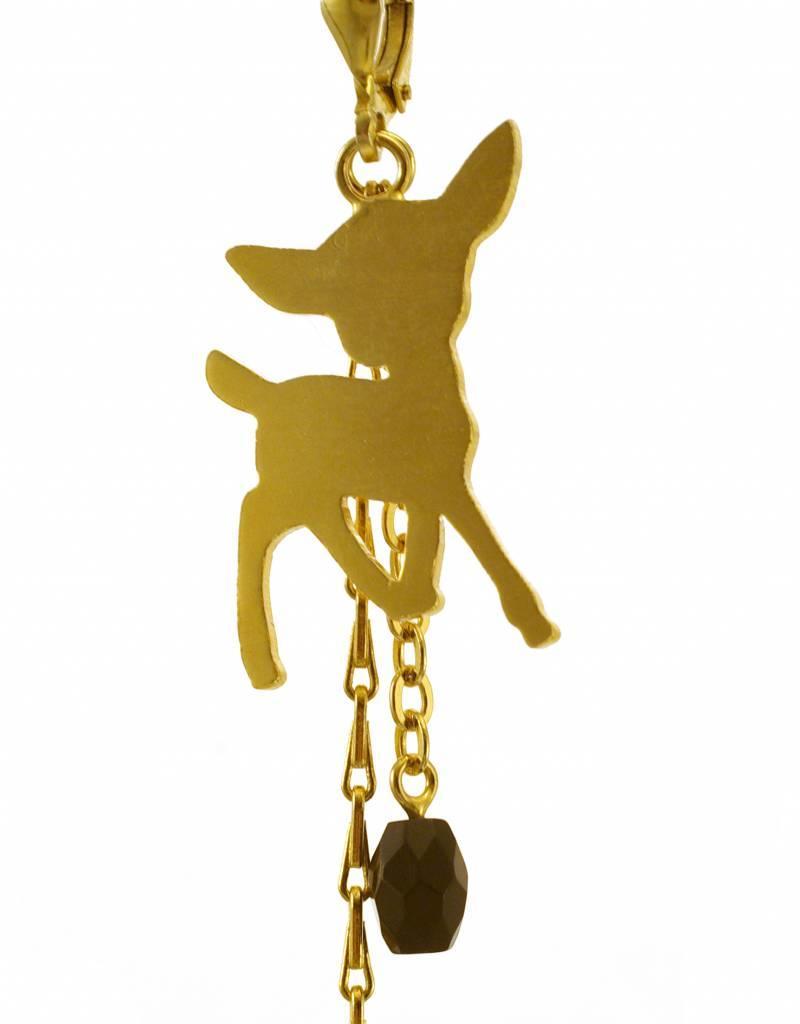 Oorbellen bambi