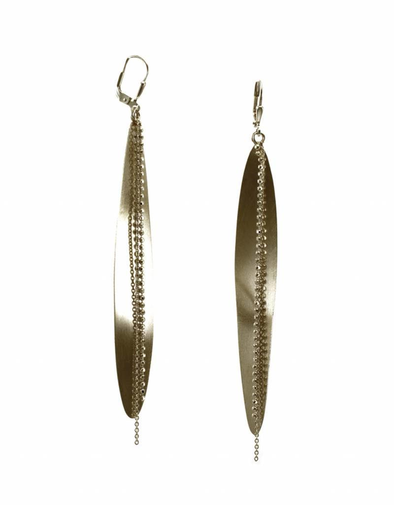 Rebels & Icons Earrings long leaf