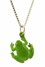 Rebels & Icons Necklace frog - green