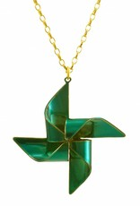 Rebels & Icons Necklace windmill - candy teal