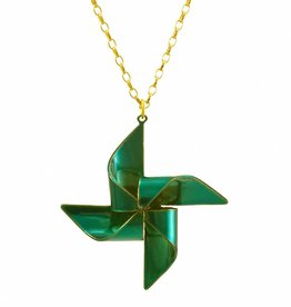 Necklace windmill
